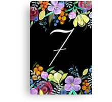 Number 7 Canvas Print