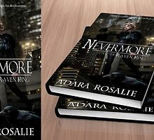 Nevermore - The Raven King Premade Book Cover by Adara Rosalie