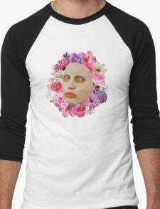 Alyssa Edwards Beauty Mask With Flowers - Rupaul's Drag Race All Stars 2  Men's Baseball ¾ T-Shirt
