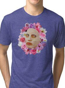 Alyssa Edwards Beauty Mask With Flowers - Rupaul's Drag Race All Stars 2  Tri-blend T-Shirt