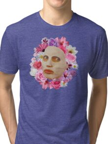 Alyssa Edwards Beauty Mask With Flowers - Rupaul's Drag Race All Stars 2  Tri-blend T-Shirt