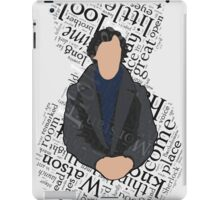 3/4 Sign iPad Case/Skin