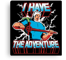 I Have the Adventure Canvas Print