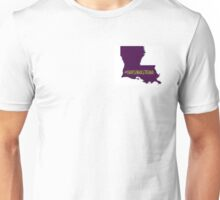 Louisiana Strong (Purple & Gold) 2 Unisex T-Shirt