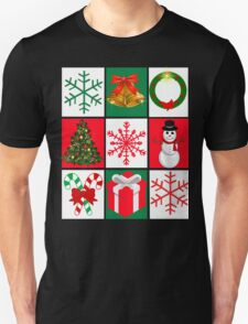 Ugly Christmas Sweater T-Shirt, Tee featuring whimsical holiday graphics Unisex T-Shirt