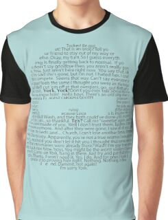 Carolina Quotes Graphic T-Shirt