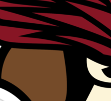 The Pidgeotto Cardinals Sticker
