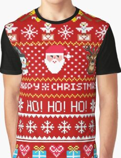 Happy Christmas Holiday- Christmas Sweater Coming Graphic T-Shirt
