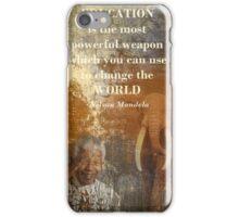 Mandela iPhone Case/Skin