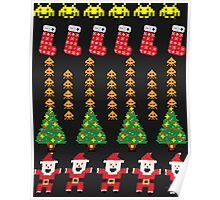 Game Classic Christmas Sweater Poster