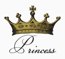 Princess Gold Crown by Pixelchicken