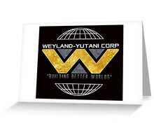 Weyland Yutani Corp Greeting Card