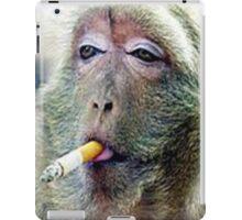 funy monk iPad Case/Skin