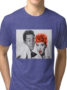 Who loves Lucy Tri-blend T-Shirt