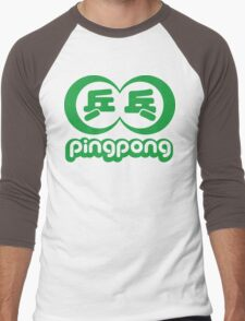 PING PONG 乒乓 Men's Baseball ¾ T-Shirt