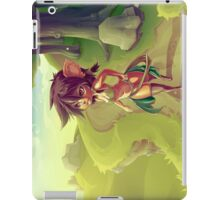 Forest Girl iPad Case/Skin