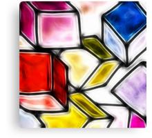 Fractalius cubes Canvas Print