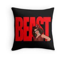 "Alyssa Edwards ""BEAST"" Throw Pillow"