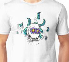 Sunken Tentaskull (Cryptly logo) Unisex T-Shirt