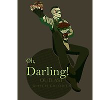 Darling (Green ver.) Photographic Print