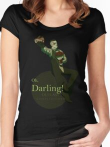 Darling (Green ver.) Women's Fitted Scoop T-Shirt