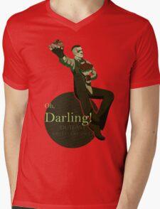 Darling (Green ver.) Mens V-Neck T-Shirt