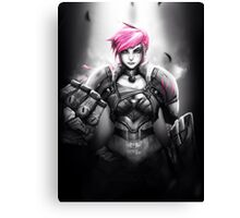 Vi - League of Legends Canvas Print
