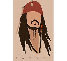 Savvy? Photographic Print