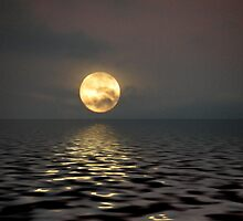 Moon over Water by Winona Sharp