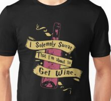 I Solemnly Swear That I'm About To Get Wine T Shirt Unisex T-Shirt