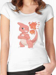 Pokemon-Charmeleon Women's Fitted Scoop T-Shirt