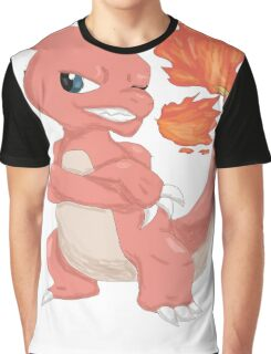 Pokemon-Charmeleon Graphic T-Shirt