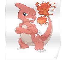 Pokemon-Charmeleon Poster