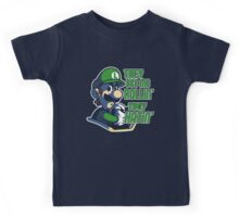 Luigi MK8 - Ridin' Dirty Kids Tee