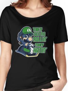 Luigi MK8 - Ridin' Dirty Women's Relaxed Fit T-Shirt