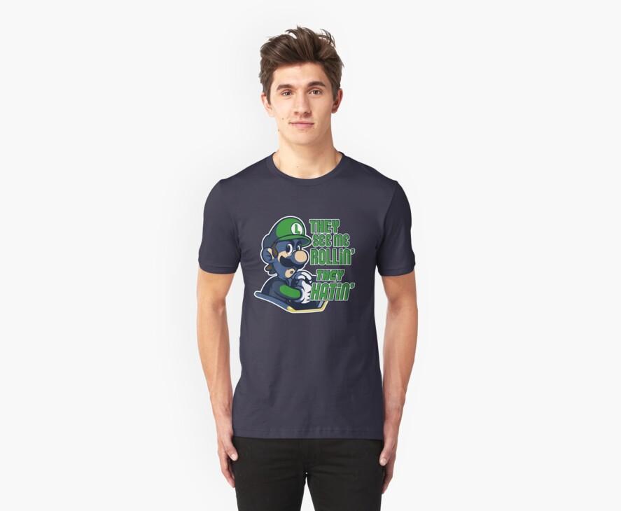 Luigi MK8 - Ridin' Dirty by MartinIsAwesome
