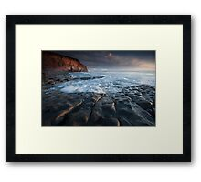 Nash Point South Wales Framed Print