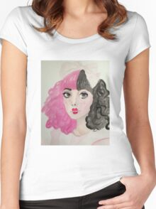 Mel Women's Fitted Scoop T-Shirt
