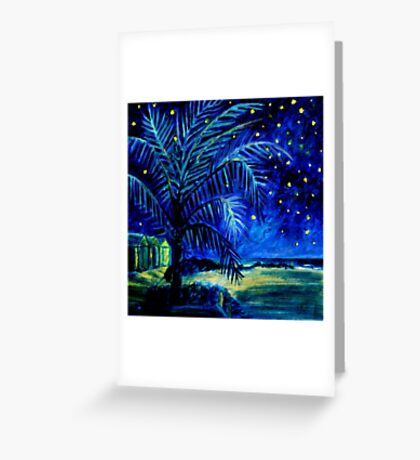 Starry Night - Monkey Mia Greeting Card
