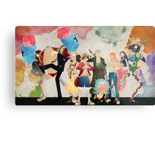 Straw Hat Crew Metal Print
