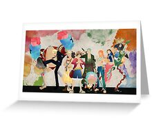 Straw Hat Crew Greeting Card
