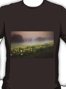 Welsh Misty Daffodils T-Shirt