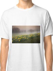 Welsh Misty Daffodils Classic T-Shirt
