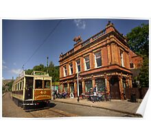 Red Lion Hotel at Crich  Poster