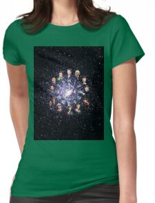 tardis from players Womens Fitted T-Shirt