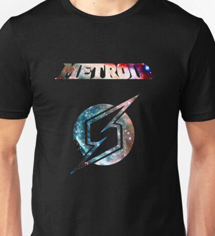 Metroid Minimalist Nebula Design Unisex T-Shirt