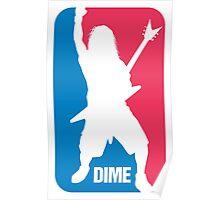 DIME: Dimebag Darrell Sport Logo Poster
