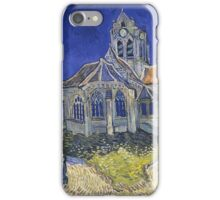 Church At Auvers , Vincent van Gogh iPhone Case/Skin