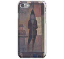 Circus Sideshow (Parade de cirque)  Georges Seurat (French, Paris  iPhone Case/Skin