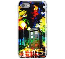 tardis starry night iPhone Case/Skin